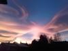 strano tramonto 29-10-17