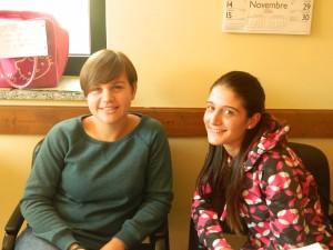 Le Educatrici Valentina e Silvia.