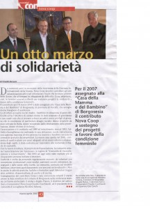 CONSUMATORI  NOVA COOP MARZO 2007