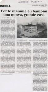 """CORRIERE VALSESIANO"" 19-02-1999"