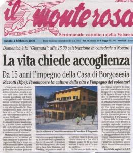 IL MONTEROSA 02-02-2008