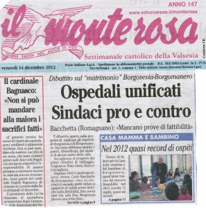 """""""IL MONTEROSA"""" 14-12-12 A"""