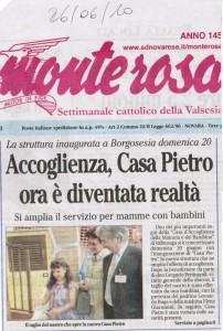 IL MONTEROSA 26-06-2010