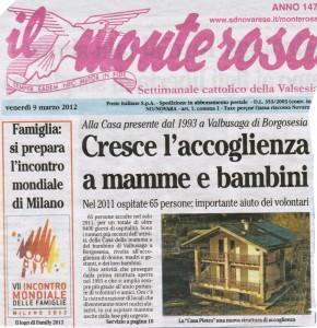 """""""IL MONTEROSA"""" 9-03-12"""