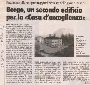 """LA STAMPA"" 02-03-1999"