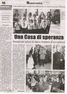 """NOTIZIA OGGI"" 6 FEBBRAIO 2003"