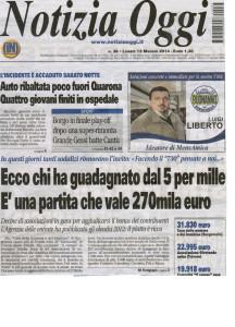 """""""Notizia Oggi"""" 12 Maggio 2014 a"""