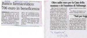 """""""NOTIZIA OGGI"""" e """"IL MONTEROSA"""" FEBBRAIO 2013"""