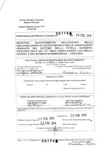 MANTENIMENTO TUTELA MATERNO INFANTILE